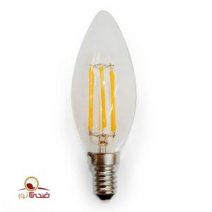 لامپ فیلامنتی شمعی