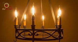لامپ لوستری