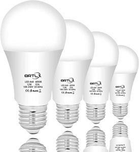انواع وات لامپ های حبابی