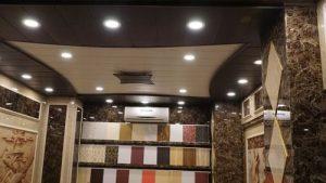 چراغ هالوژن سقفی