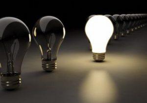 لامپ فوق کم مصرف بجای لامپ رشته ایی