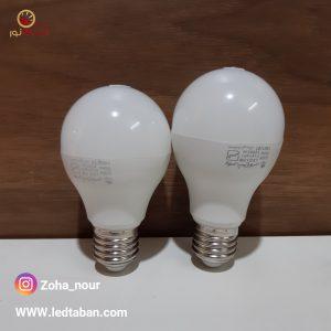 لامپ 9 وات و 12 وات پارس شغاغ توس