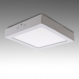 چراغ سقفی روکار 18 وات مربع