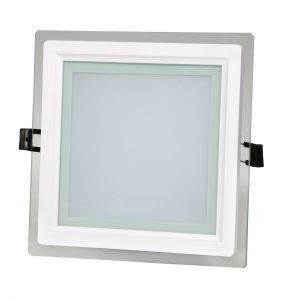 چراغ سقفی توکار مربع 18 وات